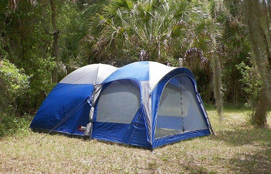 Met de tent naar Ameland